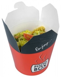 Asia Food Box 500 ml z nadrukiem - 50  szt./opak